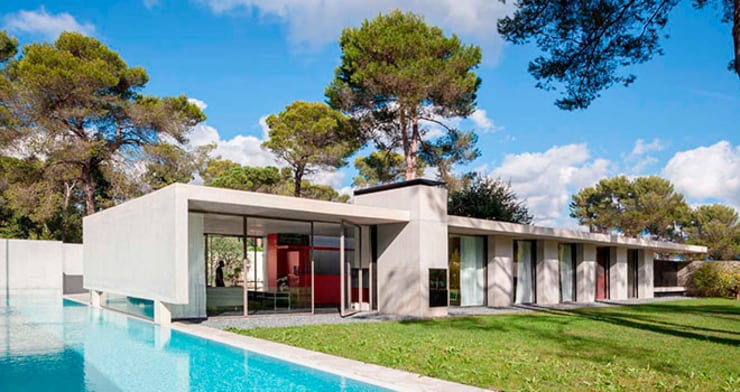 Maison contemporaine: Maisons de style  par Inter-Faces