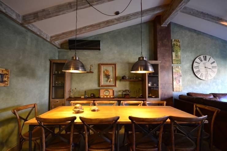 Sala social: Salones de estilo industrial de Canexel