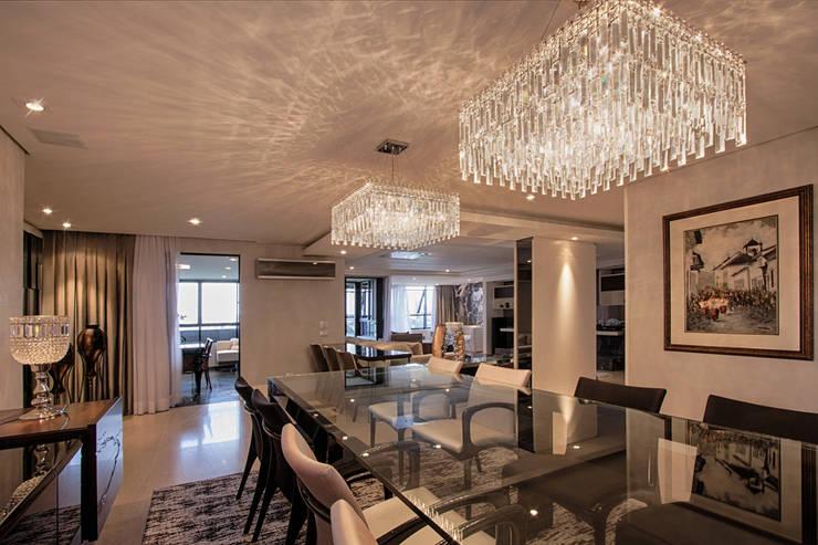 projeto |FT|: Salas de jantar  por Camila Bruzamolin - arquitetura
