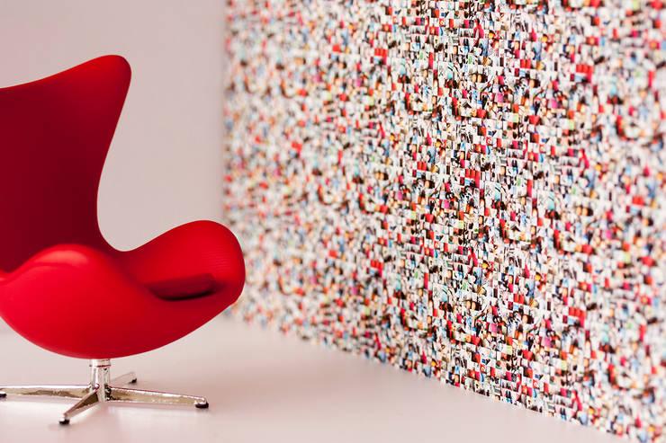 Mi Casa Su Casa Wallpaper - Full Colour:  Walls & flooring by Identity Papers