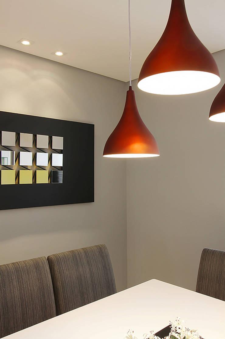 projeto |CM| : Salas de jantar  por Camila Bruzamolin - arquitetura