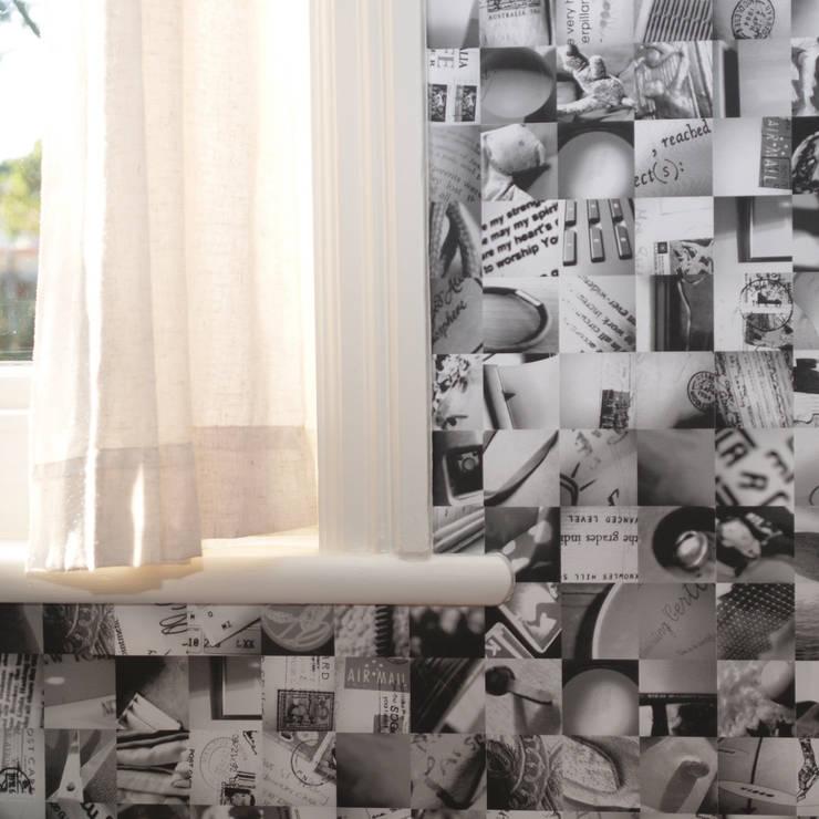 Mi Casa Su Casa - Monochrome:  Walls & flooring by Identity Papers