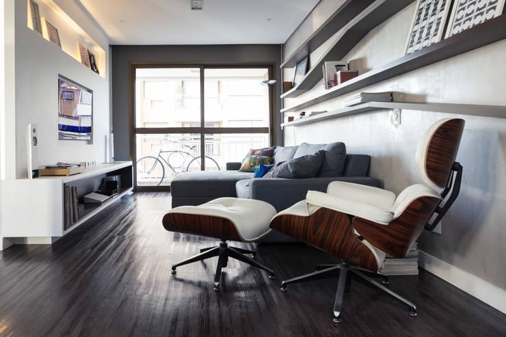 Гостиная в . Автор – Moove Arquitetos