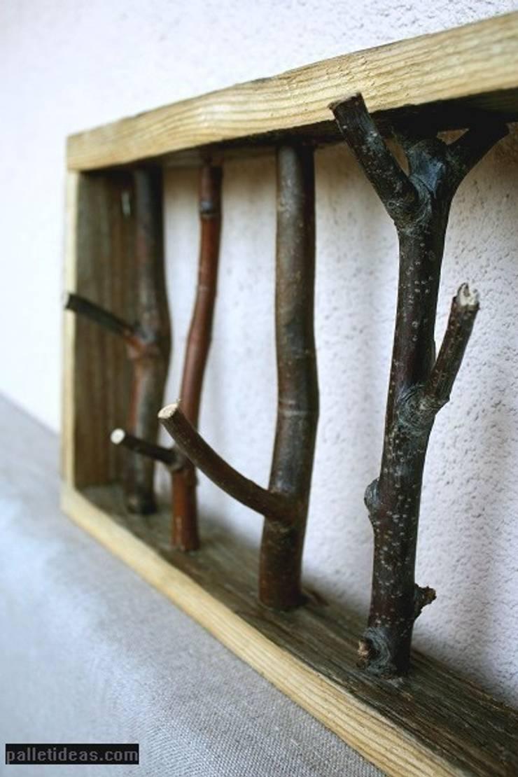 Ramka , wieszak: styl , w kategorii Ściany i podłogi zaprojektowany przez Palletideas