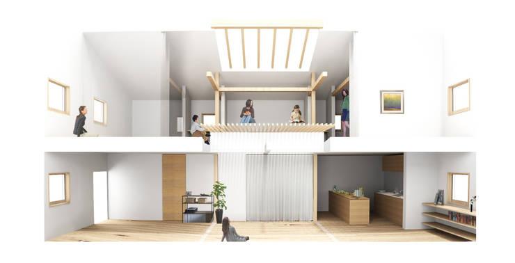 プラス間: 木村直樹建築設計事務所が手掛けたです。