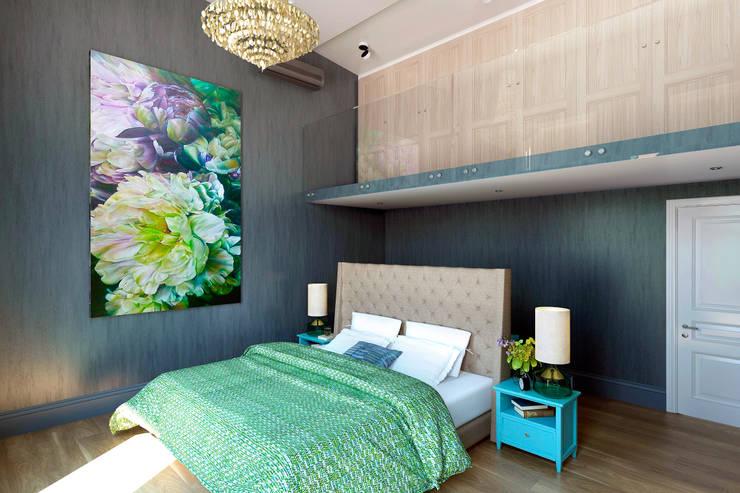 Dormitorios de estilo ecléctico de lab21studio