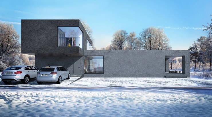 Hammer House: Дома в . Автор – ALEXANDER ZHIDKOV ARCHITECT