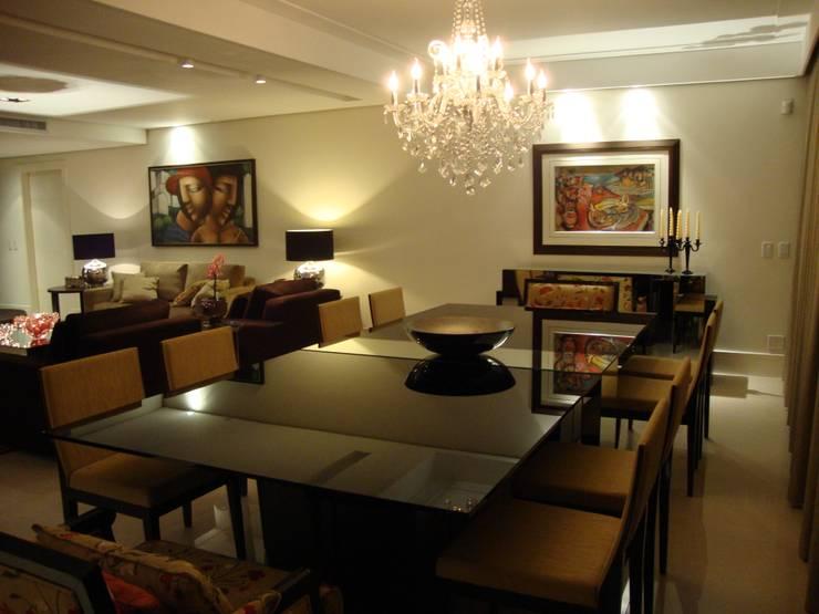 Sala de jantar Salas de jantar modernas por Geraldo Brognoli Ludwich Arquitetura Moderno