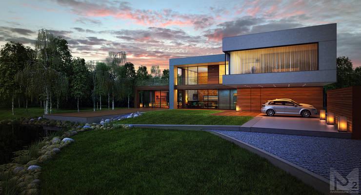 Дом в Ленинградской области: Дома в . Автор – ALEXANDER ZHIDKOV ARCHITECT