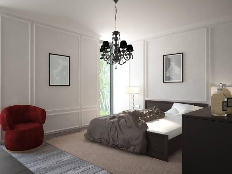 Aleksandr Zhydkov Architectが手掛けた寝室