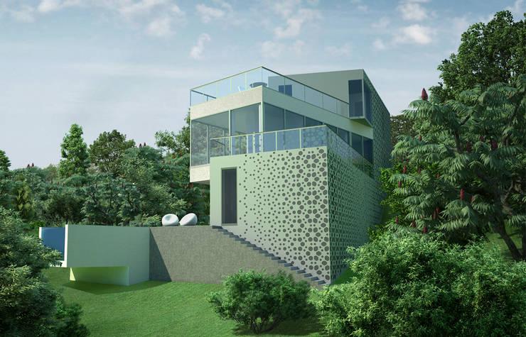 Дом в Гурзуфе: Дома в . Автор – ALEXANDER ZHIDKOV ARCHITECT