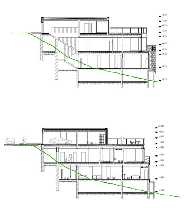 Дом в Гурзуфе:  в . Автор – ALEXANDER ZHIDKOV ARCHITECT
