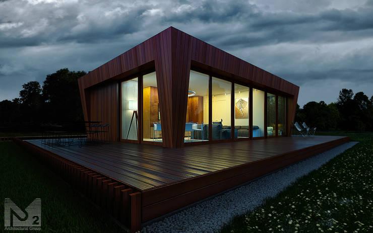 scandinavian Houses by ALEXANDER ZHIDKOV ARCHITECT