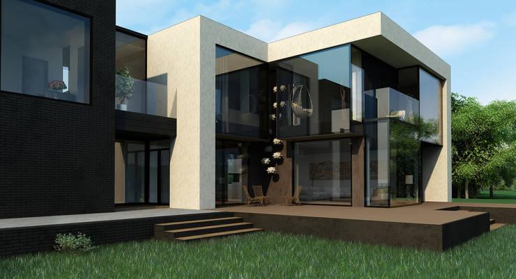 minimalistische Häuser von ALEXANDER ZHIDKOV ARCHITECT