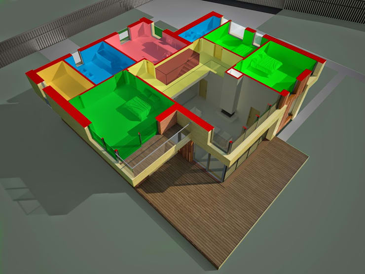 Casas escandinavas por ALEXANDER ZHIDKOV ARCHITECT