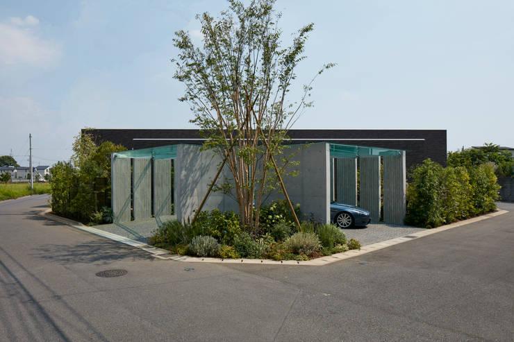 外観: Mアーキテクツ|高級邸宅 豪邸 注文住宅 別荘建築 LUXURY HOUSES | M-architectsが手掛けた家です。