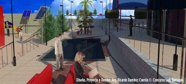 Plaza Principal Casas modernas de Ramírez Cuesta Arquitectos Moderno