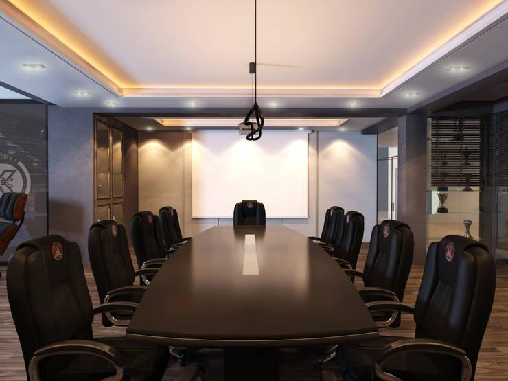 Дизайн кабинета <q>МФК Кайрат</q>: Офисные помещения в . Автор – AIR Design