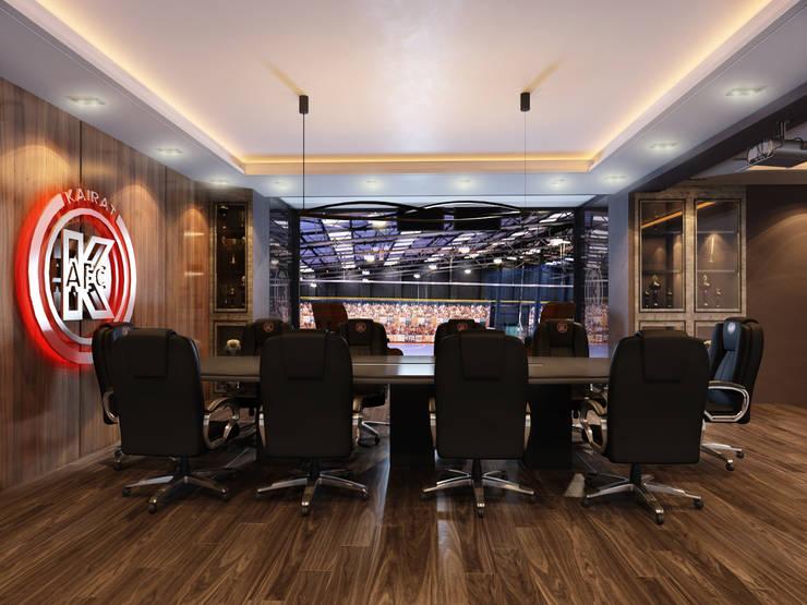Дизайн кабинета <q>МФК Кайрат</q>: Конференц-центры в . Автор – AIR Design