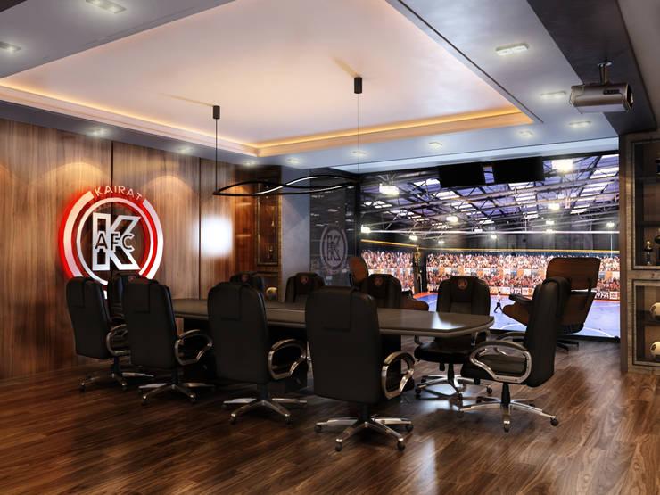 """Дизайн кабинета """"МФК Кайрат"""": Офисные помещения в . Автор – AIR Design"""