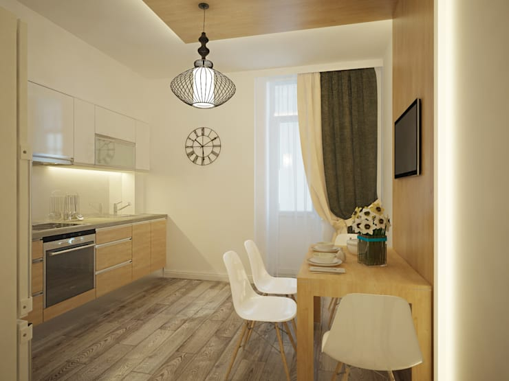 Кухни в . Автор – Polovets design studio