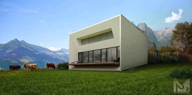 дом в горах: Дома в . Автор – ALEXANDER ZHIDKOV ARCHITECT