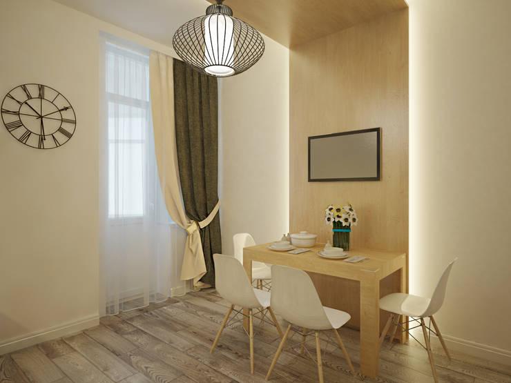 Квартира в современном минимализме: Кухни в . Автор – Polovets design studio