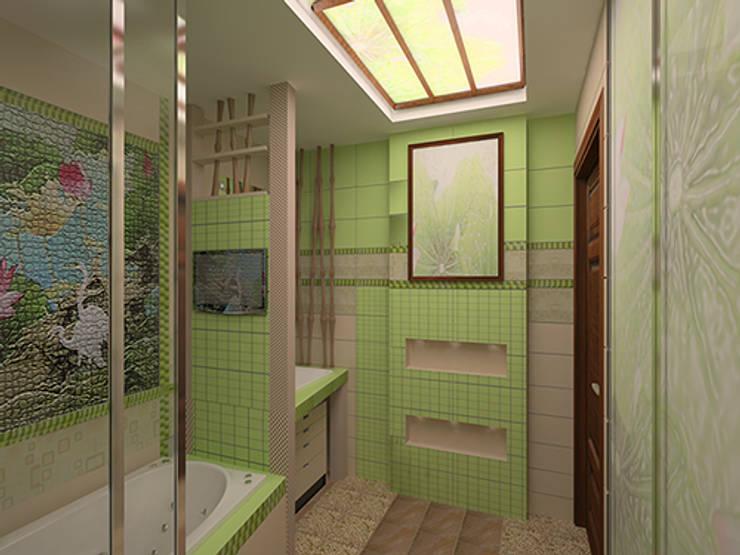 ООО ПрофЭксклюзив Студия дизайна интерьеров의  욕실