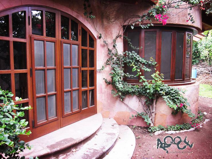 Casa Ala: Casas de estilo  por CONSTRUCTORA ARQOCE