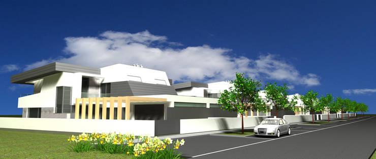 P309_2007 Quinta da Luz Quintas  Ílhavo   -     www.vitoria.com.pt: Casas  por José Vitória Arquitectura