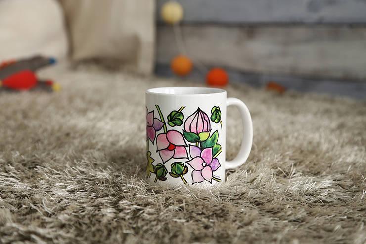 수채화꽃1: 블루케의  주방