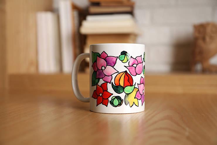 수채화꽃2: 블루케의  주방