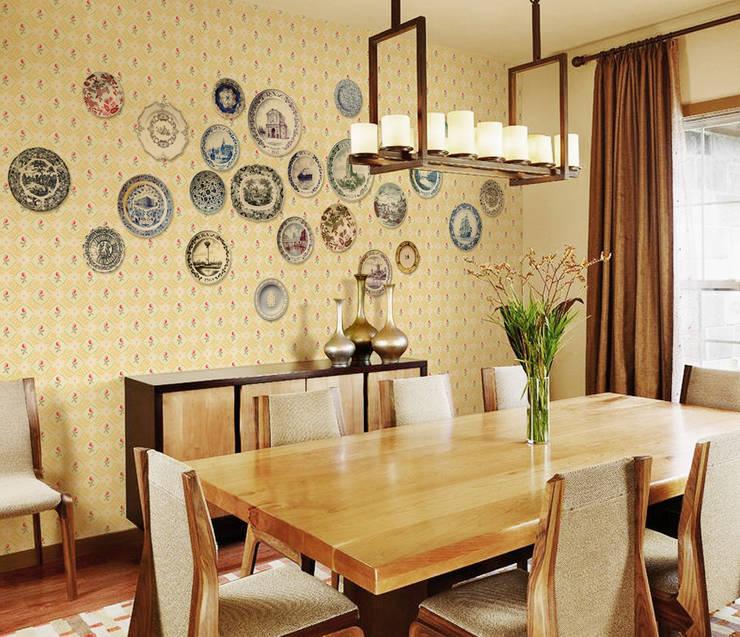 Mural wallpaper, point wallpaper: U2의  벽 & 바닥