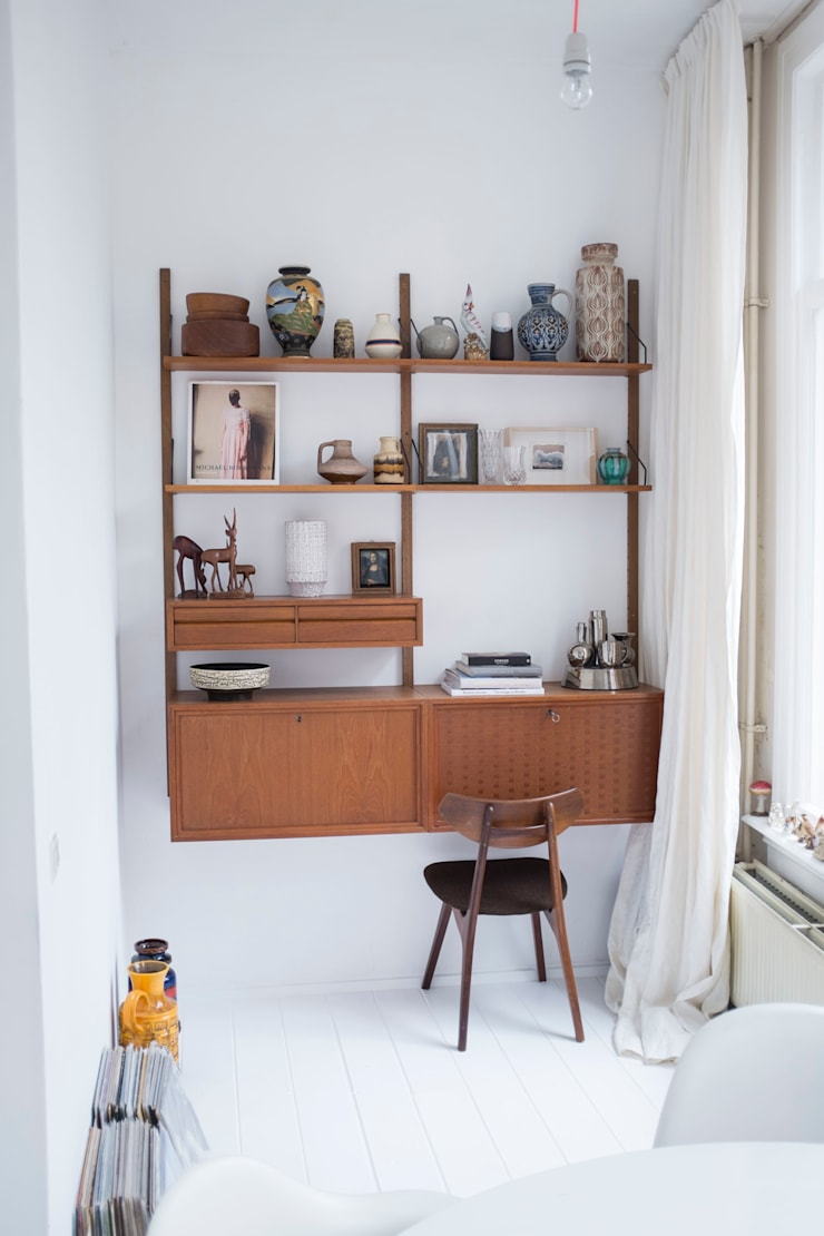 interieur- en kleuradvies:  Woonkamer door studio zipp, Scandinavisch