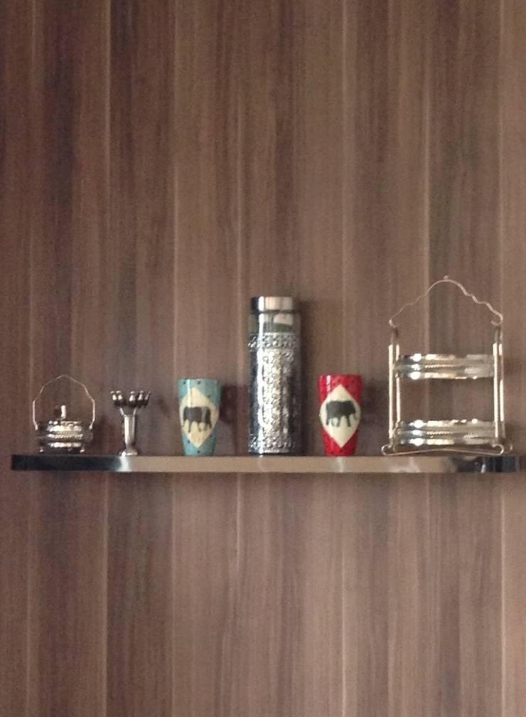 Projeto de Interiores – DG: Cozinha  por Paula Folim - Arquitetura e Interiores