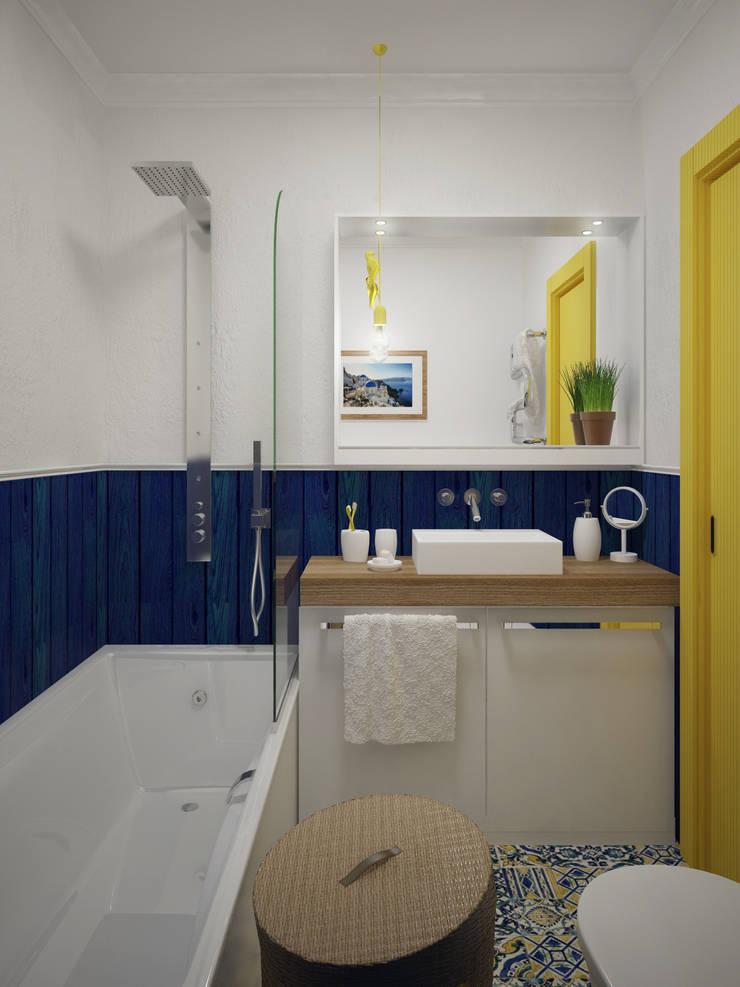 С видом на море: Ванные комнаты в . Автор – Olesya Parkhomenko