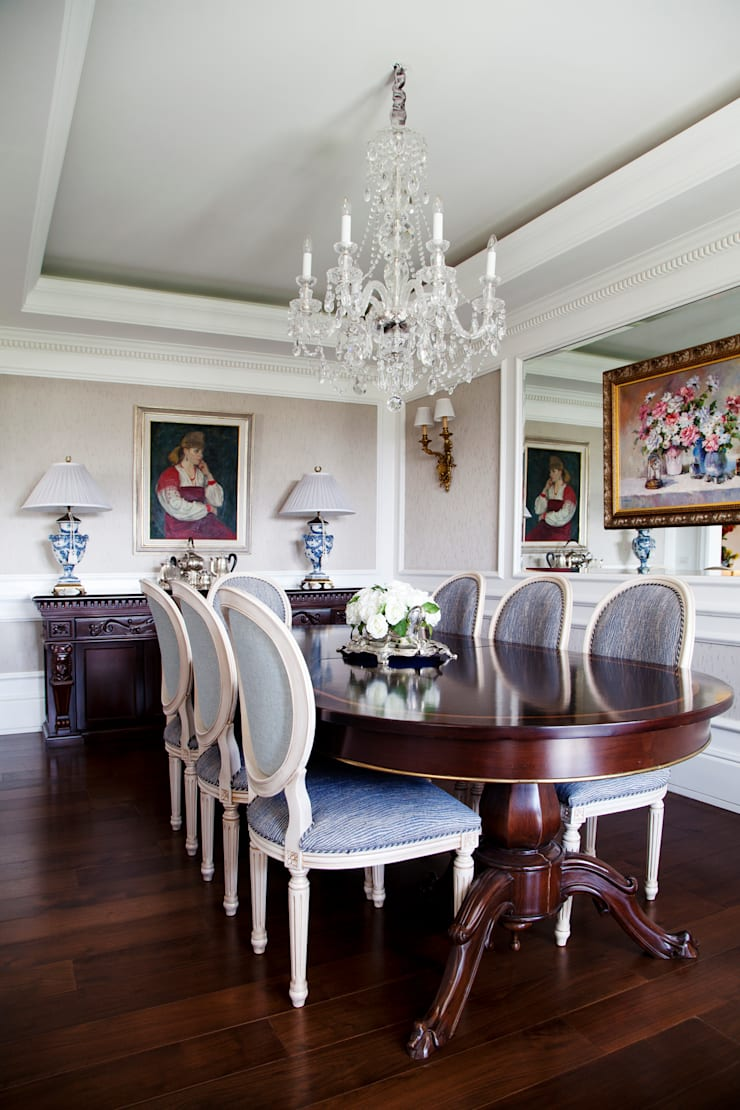 Kerim Çarmıklı İç Mimarlık – Çubukluvadi Evi : modern tarz Yemek Odası