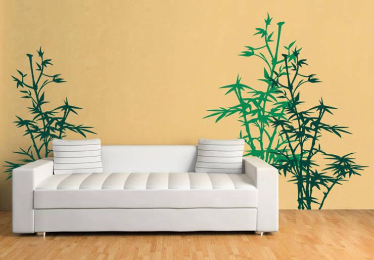 Pareti & Pavimenti in stile in stile Asiatico di wall-art.fr