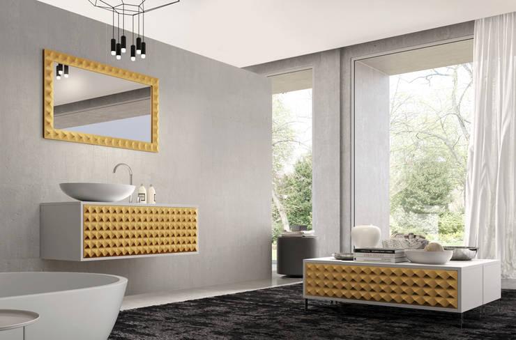 Mueble Diamond Oro: Baños de estilo  de Astris