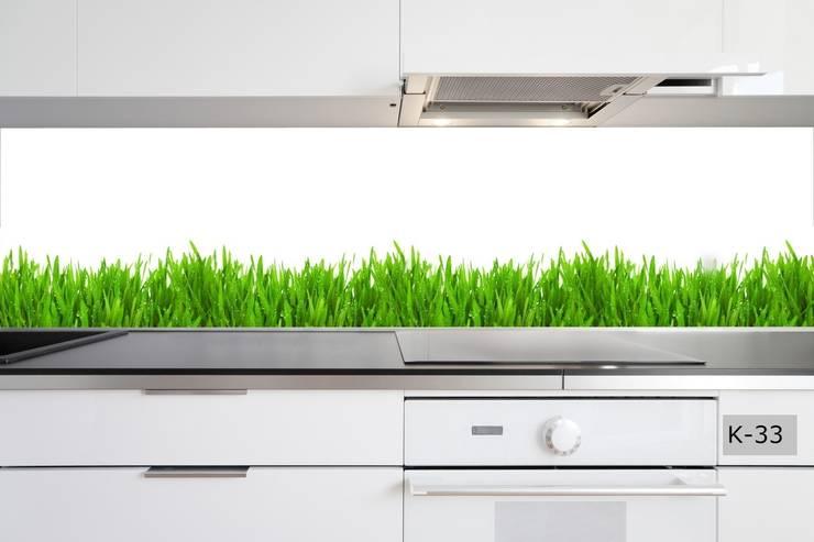 panele szklane: styl , w kategorii Kuchnia zaprojektowany przez Inoutprint