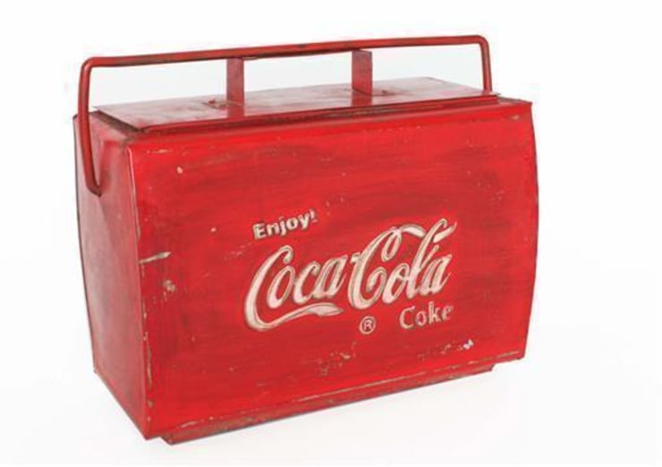Vintage Coca Cola Cool-Box:  Household by Vintage Archive