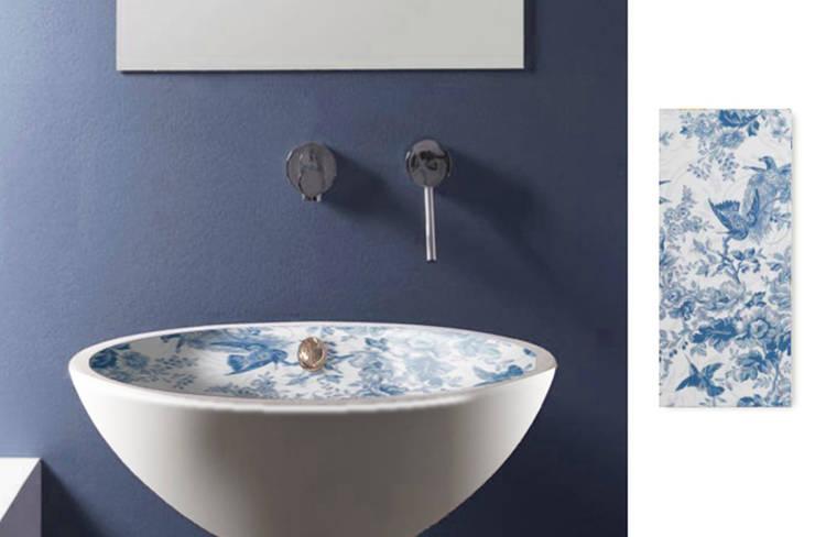 Lavabo baño Vintage 4: Baños de estilo moderno de Astris