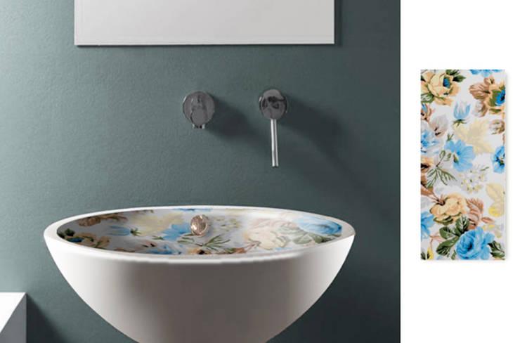 Lavabo baño Vintage 5: Baños de estilo  de Astris
