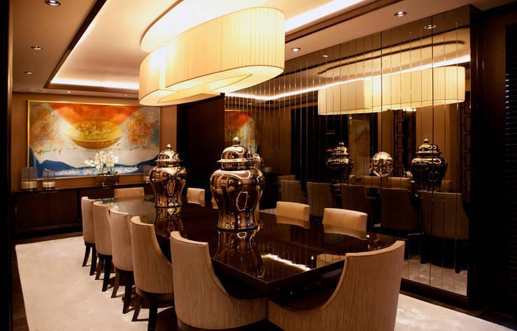 Kerim Çarmıklı İç Mimarlık – D.M.U. ARNAVUTKÖY EVİ II :  tarz Yemek Odası