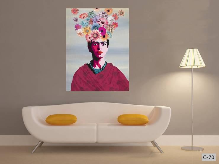 obrazy na płótnie Canvas: styl , w kategorii Sztuka zaprojektowany przez Inoutprint