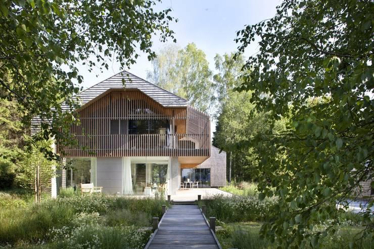 Ansicht Veranda:  Häuser von architekt stephan maria lang