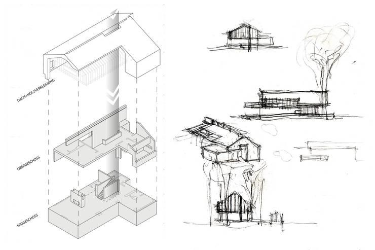Skizzen :   von architekt stephan maria lang