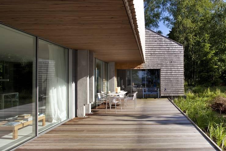 Esplatz Veranda:  Terrasse von architekt stephan maria lang