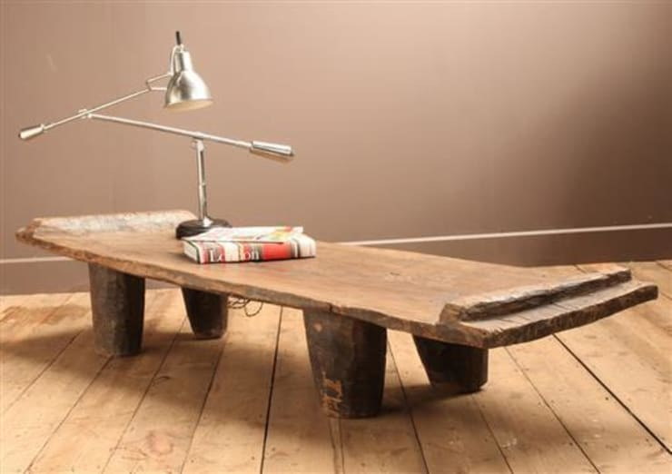 Tribal Coffee Table :  Living room by Vintage Archive