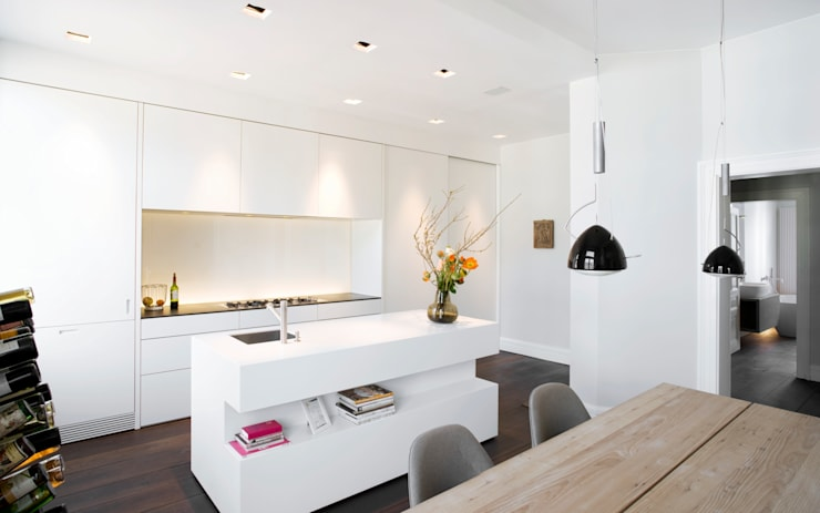 Cocinas de estilo  por Schmidt Holzinger Innenarchitekten